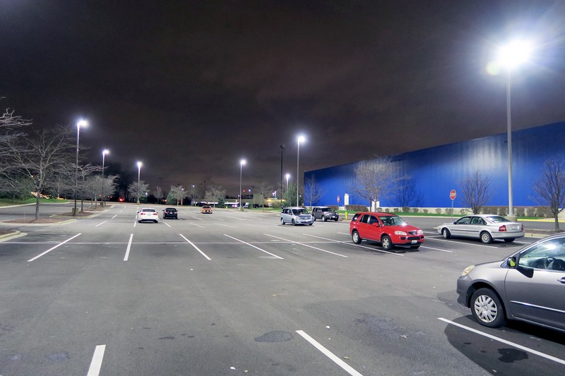 Commercial led parking lot lights auburn wa parking lot lights commercial led parking lot lights design and installation aloadofball