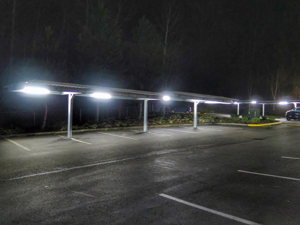 Led parking lot lights bothell wa commercial parking lot lighting commercial parking lot lighting installed in bothell aloadofball Choice Image